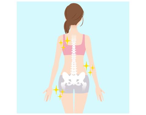 2.体幹部や股関節、足部のマッサージ