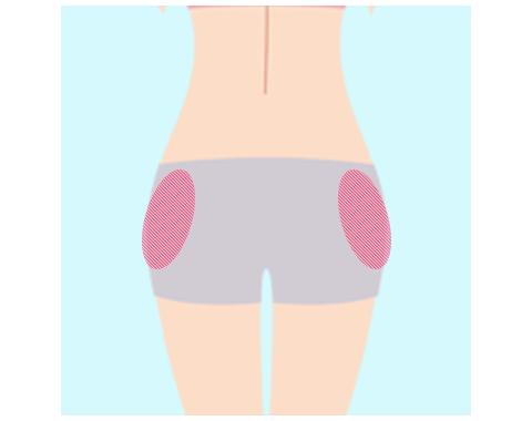 5.お尻の筋肉(中殿筋)のトレーニング